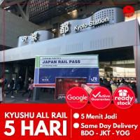 JAPAN KYUSHU ALL RAIL PASS 5 HARI (DEWASA)