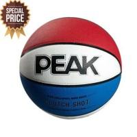 Special Bola Basket Peak Clutch Shot Basketball - Blue Red The Best