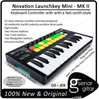 Harga novation launchkey mini mk ii keyboard midi controller mk2 mk 2   antitipu.com