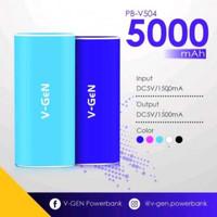 Jual POWER BANK V GEN 5000MAH V-504 Murah