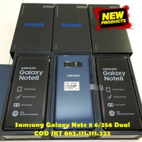 Samsung Galaxy Note 8 6/128gb Ram 6gb 128gb Midnight Black Dual Sim