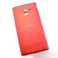 Sony Xperia ZL Back Cover - Cover Belakang - RED - MERA Berkualitas