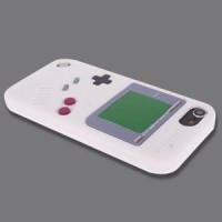 SS4807 - GAMEBOY SILICONE CASE IPOD TOUCH 5 - 6 WHITE Diskon