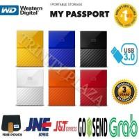 WD My Passport NEW 2TB HD HDD Hardisk Eksternal External 2 5
