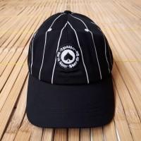 (Topi Pria) POLO CAPS TOPI SKATE THRASHER SKATE OR DIE BLACK