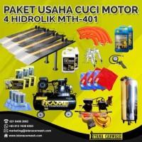 Paket Hemat Usaha Cuci Motor 4 Hidrolik By Istana Carwash