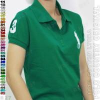 BAJU WANITA POLO COUNTRY C26-39 Original Kaos Polo Wanita Kerah V-Neck
