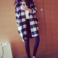 PROMO !!! Kemeja Wanita Maskulin Style AlA korea Fashion Baju Import