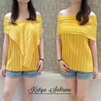 BAJU WANITA BAJU MURAH Sabrina Top Multiwear 3 Model (Baju import