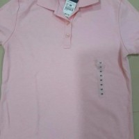 SALE Polo Shirt Hush Puppies - Tshirt Green Pink for Ladies Girl