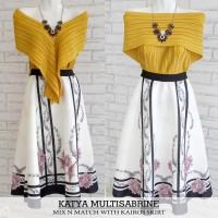 BAJU WANITA MUSLIM Sabrina Top Multiwear 3 Model (Baju import Bangkok)