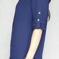 style/ Baju Branded Murah Express GreennBlue Button Portofino Shirt Dr