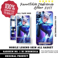 Garskin hp all Vivo Oppo Xperia Motorola dll skin Mobile legend Eudora