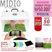 Mini Portable Kit Photo Photography Studio Midio