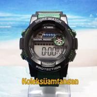 JAM TANGAN G ARMY G-2583 HIJAU ORIGINAL MURAH