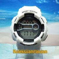 JAM TANGAN G ARMY G-2583 WHITE ORIGINAL MURAH