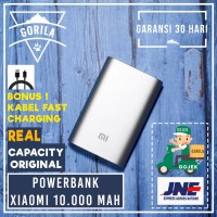 [HOT] Powerbank Xiaomi 10000 mAh ORIGINAL ! / Mi Power bank
