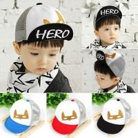 topi baseball anak hero import all size usia 1-3 tahun motif bagus TAH
