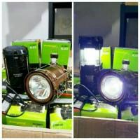 Jual Emergency Lentera Tarik Solar + Powerbank + SENTER / Lampu Camping LED Murah