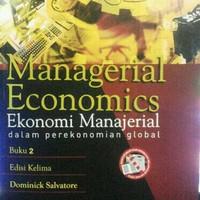 Buku Managerial Economics Edisi 5 Buku 2 By. Dominick Salvatore