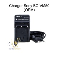Charger Sony BC-VM50 for Sony A200 A300 A350 A450 A500 A550 (OEM)