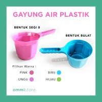 Gayung Plastik Air Kamar Mandi Warna