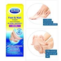 Jual PROMO Scholl Foot and Nail Cream 60ml (Krim Kaki) Normal Rp 50.000 Murah