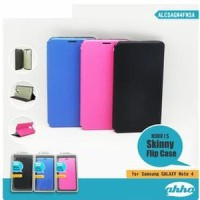 Leather Case Flip Cover Norris skinny Ahha Samsung Galaxy Note 4 MURA