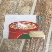 """Starbucks Card """"Hot Chocolate"""""""