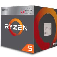 AMD Ryzen 5 Raven Ridge 2400G 3.6Ghz Up To 3.9Ghz Cache 4MB 65W AM4