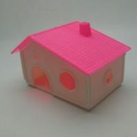 Rumah Hamster-Sugar Glider Type KPR