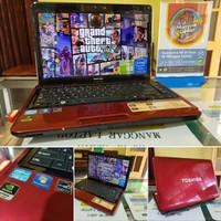 laptop seken TOSHIBA L745 G GAMER N DESAIN SERIES