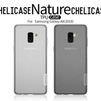 NILLKIN TPU CASE NATURE SOFT CASE SAMSUNG GALAXY A8 2018