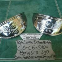 TOPI LAMPU DEPAN HONDA S90Z-S90-90Z-BENLY S110-CG110-CG125-CB125-CB100