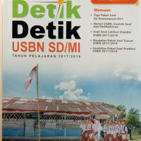 Buku DETIK DETIK USBN SD/MI,Buku Soal Ujian