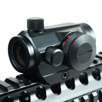 Teropong Senapan Holographic Red Green Dot Scope 20mm Rail Mount