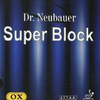 KARET PINGPONG. BINTIK PANJANG. DR NEUBAUER. SUPER BLOCK OX