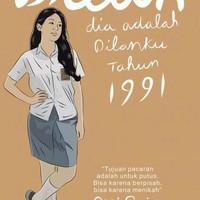Buku Novel Dilan Bagian Kedua Dilan 1991 Original