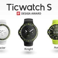 Ticwatch S Sport Smartwatch dgn google assistant dan denyut jantung