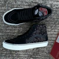 Sepatu Vans SK8 Hi Bandana Stich Bonus Lanyard