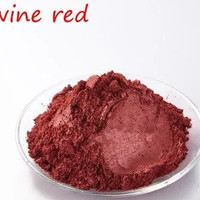 Natural Mica Powder 10g Pewarna Mika Bubuk Wine Red thumbnail