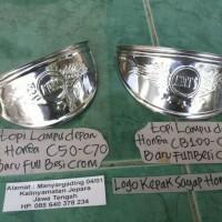 TOPI LAMPU DEPAN HONDA C50-C70-C90&HONDA CB100-CG110-S90Z-S90-BENLY