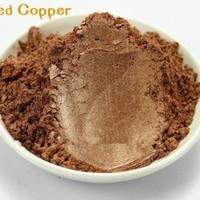 Natural Mica Powder 10g Pewarna Mika Bubuk Red Cooper thumbnail