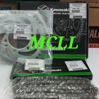 GEAR SET NINJA R 150 ORIGINAL KAWASAKI P0804-X005