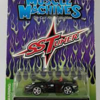Diecast Muscle Machines SS Tuner 2000 Honda S2000 Hitam ( Rare )
