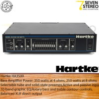 Hartke HA3500 Tube Preamp 350 Watt Bass Amplifier