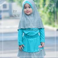 Setelan Blouse Celana dan Hijab Untuk Anak | Model Trendy | Jessy Set