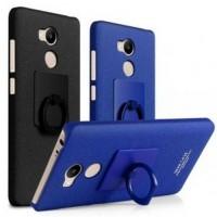 Imak Contracted iRing Hard Case for Xiaomi Redmi 4 Pro - Black