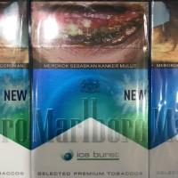 Marlboro Ice Burst 20 Batang - Rokok Busrt Ice Blast Slop Pak Bungkus