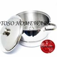 promo Bima Panci Kukusan 22cm Langseng Tutup Sauce Pot Steamer Saucep
